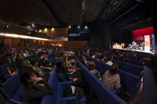 Teatro Cuyás en la Fiesta de Radio 3. Quique Curbelo
