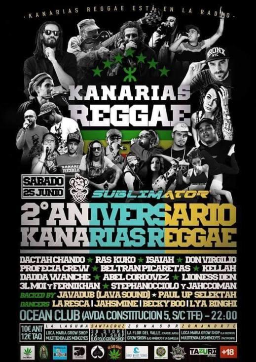 Aniversario Kanarias Reggae
